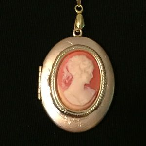 Cameo Locket Necklace